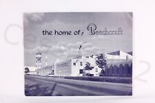BEECHCRAFT HOME Perfect Fold Out Brochure Vintage Rare USA Collectable NEW Gift