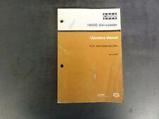 Case 1845C Uni-Loader Operator's Manual  P.I.N. JAF0135099 and After