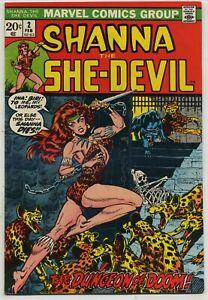 Shanna the She Devil 2 Steranko Cover High Grade