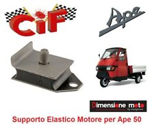"""5688 - Supporto Elastico/Silent Block Marmitta """"CiF"""" per Ape 50 Cross C dal 2009"""