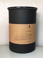 Starbucks Stainless Steel Airscape Coffee Storage Container Black 64 fl oz