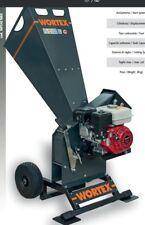 SHREDDER wood CHIPPER GASOLINE WORTEX CHIPPER T200 ENGINE HONDA GX 200