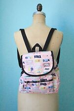 NWT $84 Le Sportsac Small Edie backpack / sweet talk pink candy love