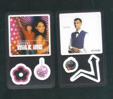 lot van 50 Kaarten van Delhaize Star & Tunes  ,zie foto's ,Nr 8,