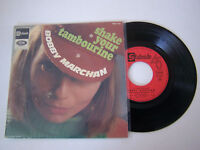EP 4 TITRES VINYL 45 T , BOBBY MARCHAN , SHAKE YOUR TAMBOURINE . VG++ / EX .