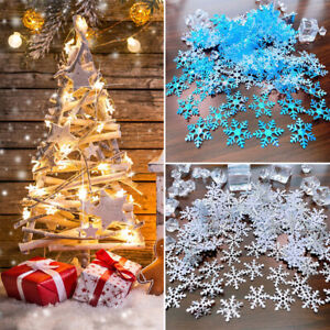 400x Christmas Snowflakes Birthday Sprinkles Confetti Table Scatter Party Decor