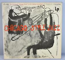 33 LP CHICAGO STYLE JAZZ COLUMBIA 6 EYE LABEL CL 632 - HISTORY OF CHICAGO STYLE