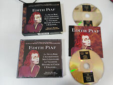 EDITH PIAF DEJAVU RETRO GOLD COLLECTION 2 X CD FAT BOX + BOOKLET LA VIE EN ROSE