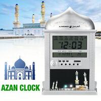 Islamisch Azan Gebetsuhr Muslim Wanduhr Moschee Uhr Ezan Islam Saati