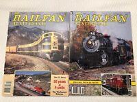 R&R: Railfan and Railroad 1989 October & November HTF! LOT OF 2