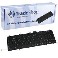 Orig Tastatur mit Hintergrundbeleuchtung QWERTZ DE für MSI GE60 GE70 GP60 GP70