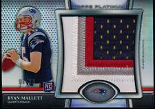 2011 Topps Platinum Ryan Mallett Rookie 4 Color Jumbo Patch #03/36 Patriots