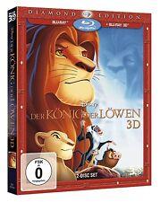 BLU-RAY  DER KÖNIG DER LÖWEN 3D - 2-Disc Diamond Edition - Disney - Pappschuber