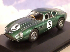 "OXFORD 1/43 ASTON MARTIN DB4 GT ZAGATO #3 ""2 VEV"" JIM CLARK GOODWOOD 1961 AMZ002"