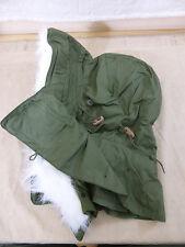 US ARMY FELLKAPUZE Kapuze HOOD w. Fur Ruff OG-107 SHELL PARKA M51 M65 Fishtail