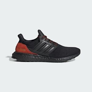 Adidas UltraBoost DNA Men's Size 9 Black Red Running Shoes FW4899