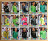 Panini Adrenalyn XL Road to Russia 2018 Team Mate/Rising Star_4 Karten (Liste)