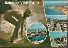 AD5590 Saluti da Viareggio (LU) - Vedute - Cartolina postale - Postcard