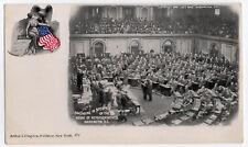 1899 SPEAKER OF HOUSE Swearing in WASHINGTON DC Congress PC Postcard HENDERSON