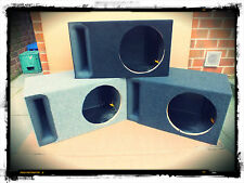 """THE BEST 12"""" Inch Slot Ported Carpeted Subwoofer Sub MDF Box Bass Enclosure NEW"""