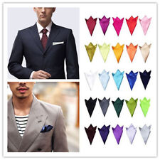Wholesale 30X  MENS SILK STAIN PROM HANDKERCHIEFS POCKET SQUARE Wedding HANKY