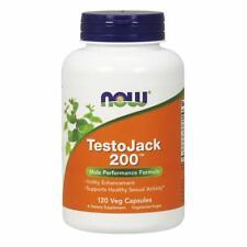 NOW TestoJack 200,120 Veg Capsules