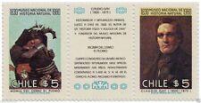 Chile 1980 #980-81 Museo Nacional de Historia Natural MNH
