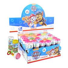 Paw Patrol blau Mädchen Bubble Blowing Wannen Kinderzimmer Garten Party Tasche Füller Spielzeug
