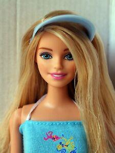Barbie Doll Blonde Redressed Adorable 01
