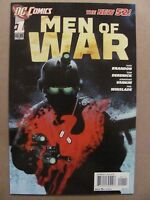 Men of War #1 NEW 52 DC Comics 2012 Series 9.6 Near Mint+