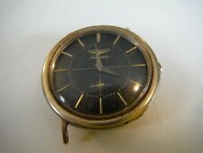 LONGINES WATCH CROSSHAIR DIAL NO BAND SOME DAMAGE MOVEMENT RUNS KEEPS TIME