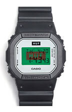 Casio G-Shock x Huf 2nd Collaboration DW-5600HUF-1 Limited Edition New Withtags