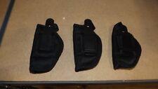 """3 - NEW Pro-Tec Holsters - Snub Nose Revolvers - 2"""" Barrel     (H901)"""