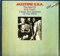 JAZZTIME USA the best of bob thiele's classic jazz sessions DOUBLE LP PS EX/EX