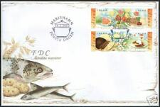 Gastronomy Europe Fish Dishes Aland Finland FDC 2002