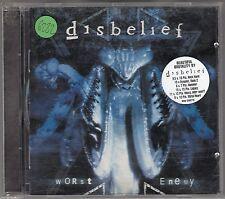 DISBELIEF - worst enemy CD