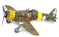 Tamiya 37007 1/48 Scale Aircraft Model Kit WWII Macchi MC.200 Saetta