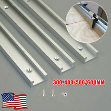 300MM-600MM T-Track Aluminium T-Slot Miter Jig Tools Part for Woodworking Router