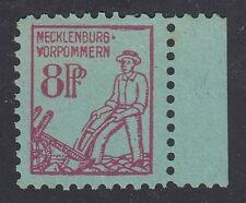 GERMANY, Soviet Zone, 1945. Mecklenburg Mi 13, II,  Mint **