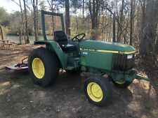 John Deere 870 Diesel Farm Tractor w/ Free Mower Pto Attachment