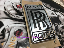 Rolls Royce Badge Original OEM Body Curved Badge For Wraith Dawn Ghost Phantom