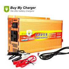 Smart 1000W Modified Sine Wave Inverter Solar Power Inverter DC 48V to AC 220V