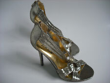 Blink High Heel Gold Strappy Stiletto shoes New UK 6