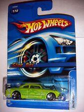 Hot Wheels 2005 #172 Shoe Box Green 1:64 Scale