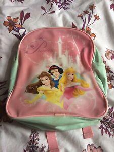 Girls Disney Princess Backpack