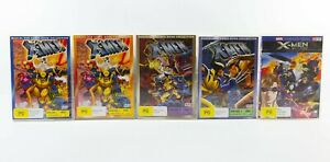 Marvel DVD Comic Book Collection X-Men Bundle of 5 VGC