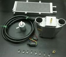 600hp Water to air charge air cooler intercooler kit for turbo and supercharger