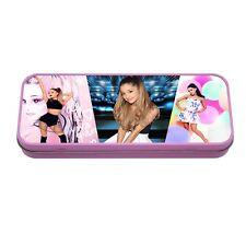Ariana Grande Pink Metal Tin Pencil School Case
