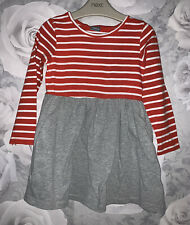 Girls Age 2-3 Years - Long Sleeved Dress From Next