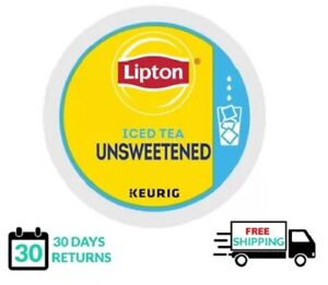 Lipton Unsweetened Iced Tea Keurig K-cups Brew Over Ice YOU PICK THE SIZE